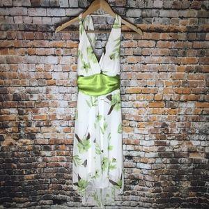 Speechless Floral Halter Dress Women (S)
